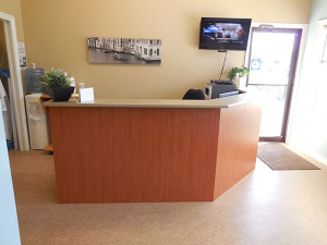 Front office at Island Dentures