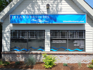 Island Dentures head office in Courtenay BC